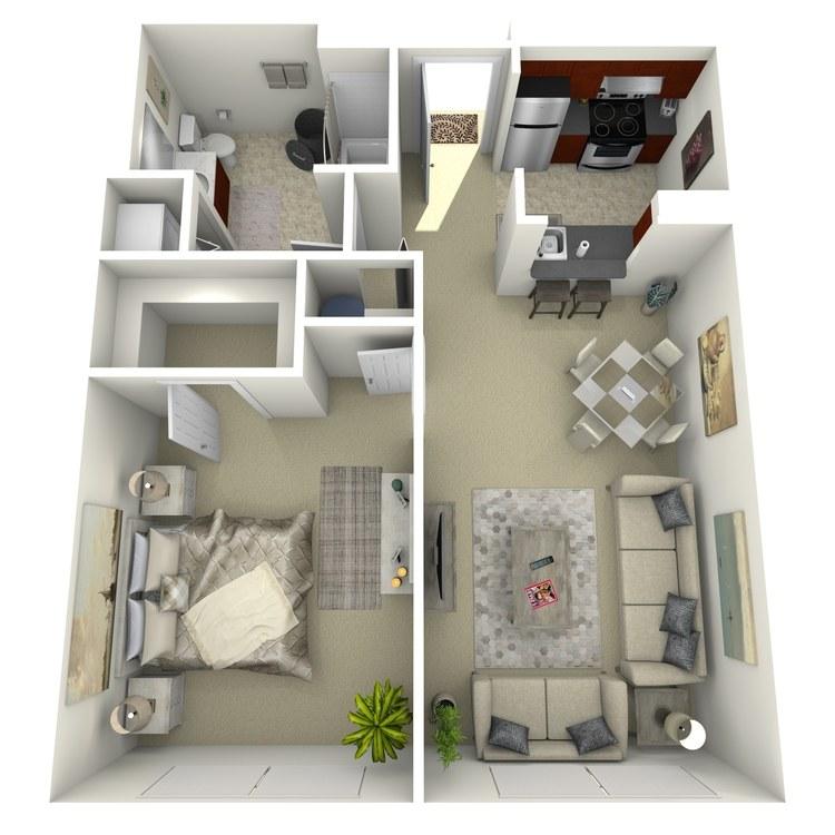 Floor plan image of Building 1-1A