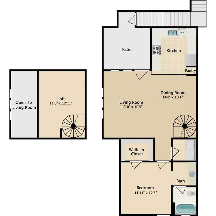 Floor plan image of Carriage Home