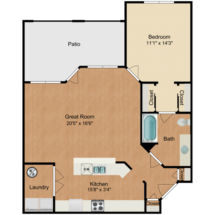 Floor plan image of The Harmony