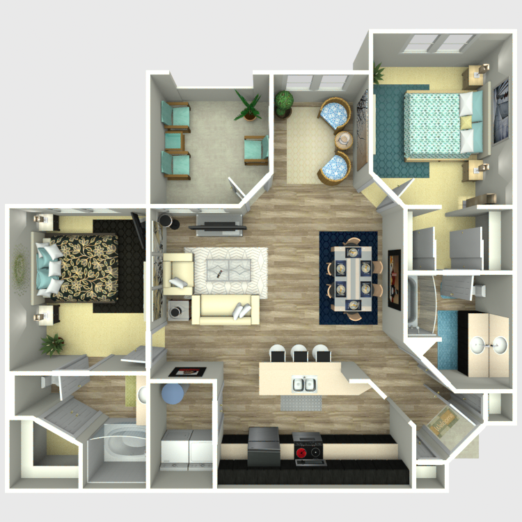 Floor plan image of The Serenity