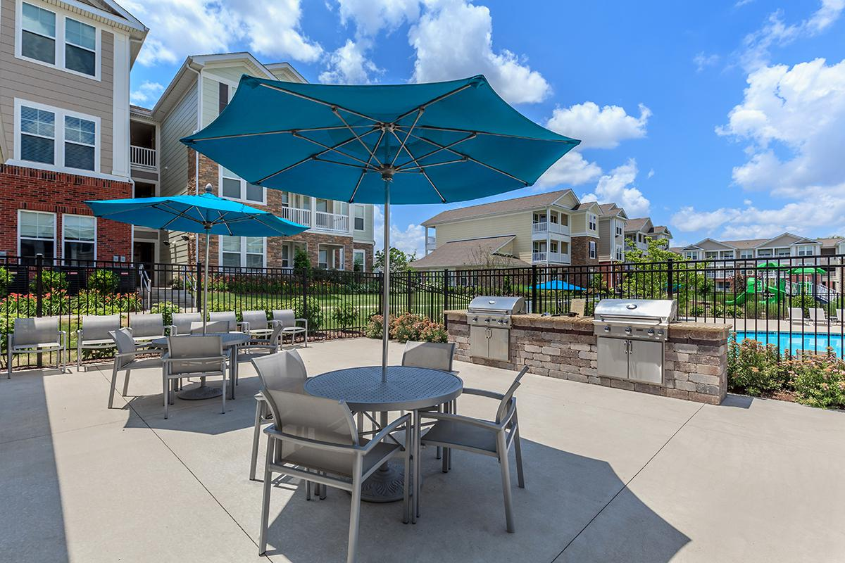Poolside Grilling and Fun in Hendersonville, TN