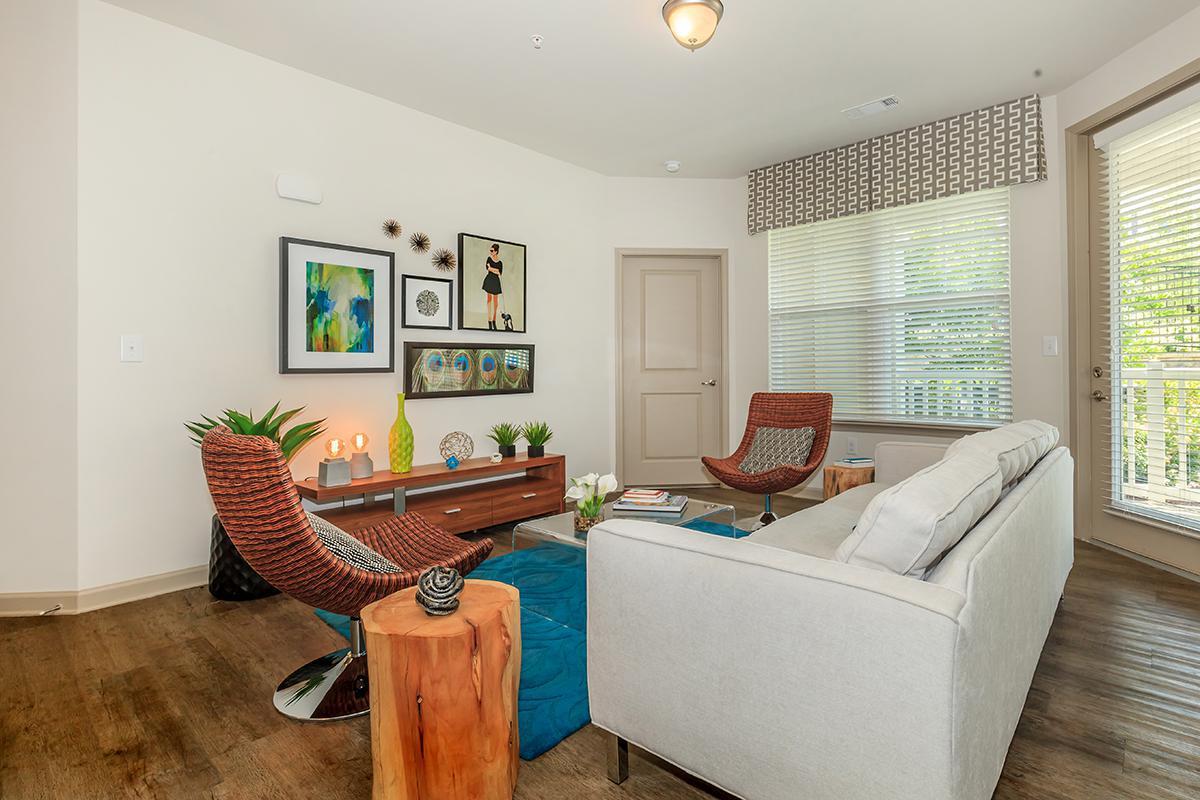 Living Room in the Renew Floor Plan