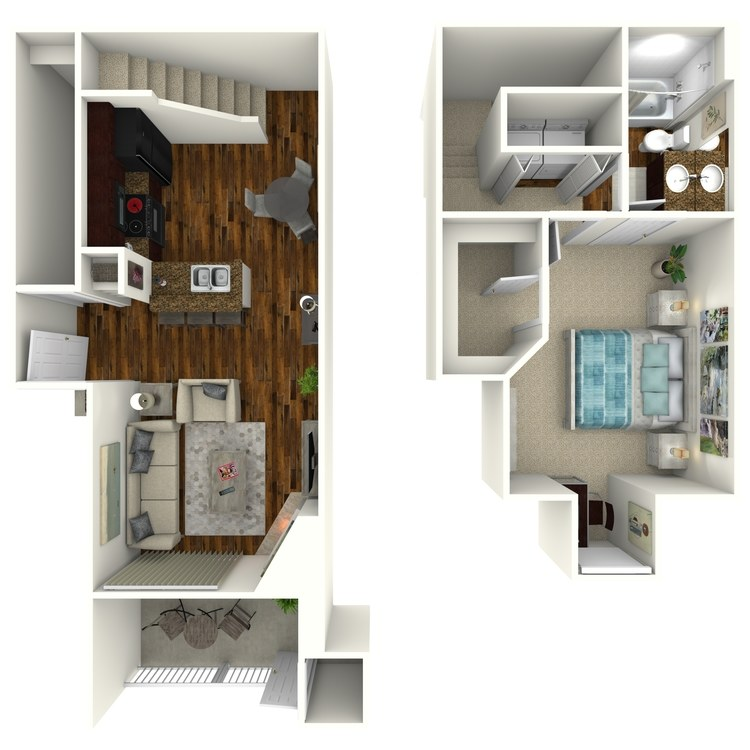 Floor plan image of Stanton TH