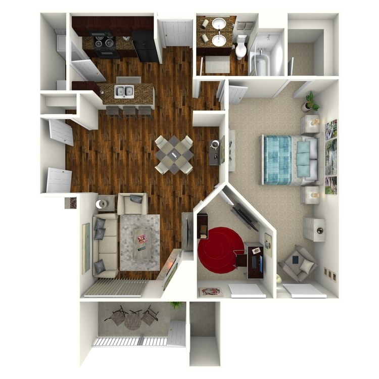 Floor plan image of Colfax