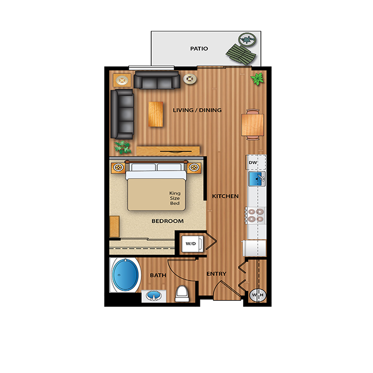 Floor plan image of Tanager
