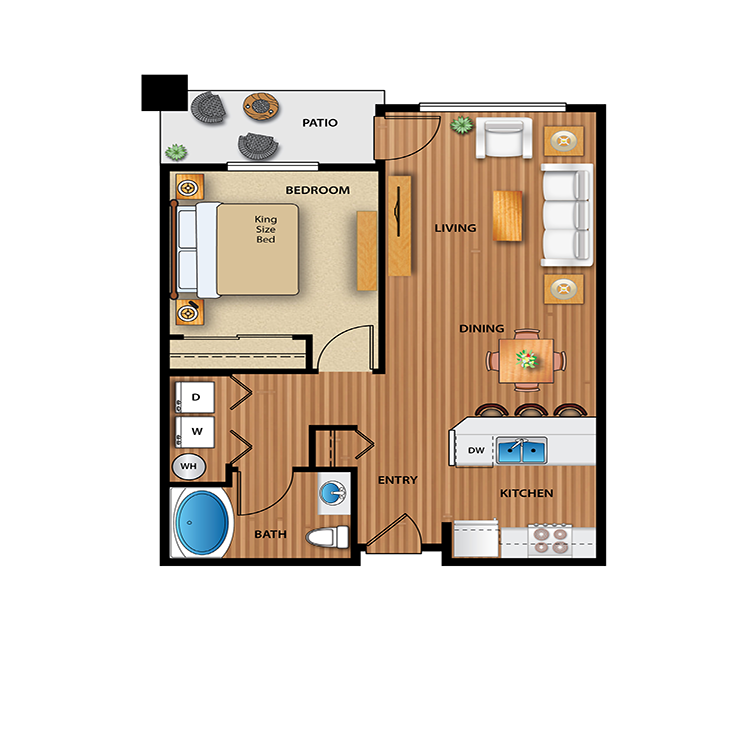 Floor plan image of Quail