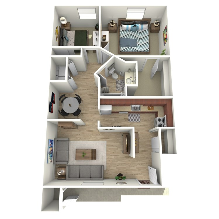 Floor plan image of Southview