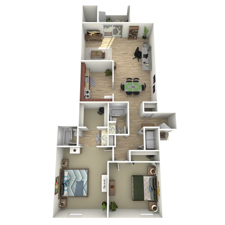 Floor plan image of Balsam