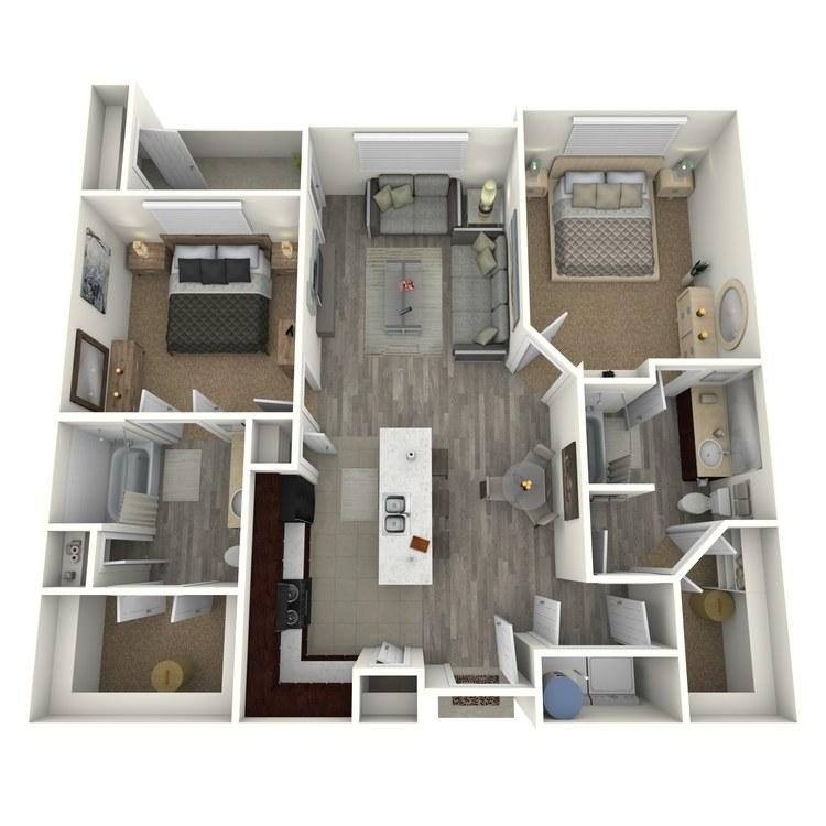 Floor plan image of B2