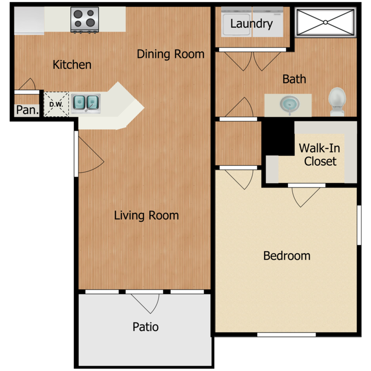 Floor plan image of Residence A1