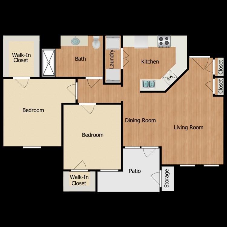 Floor plan image of Residence C1
