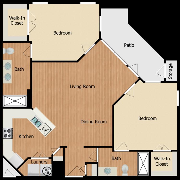 Floor plan image of Residence E2