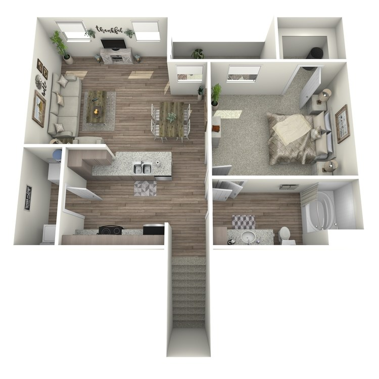 Floor plan image of A1U- Garage