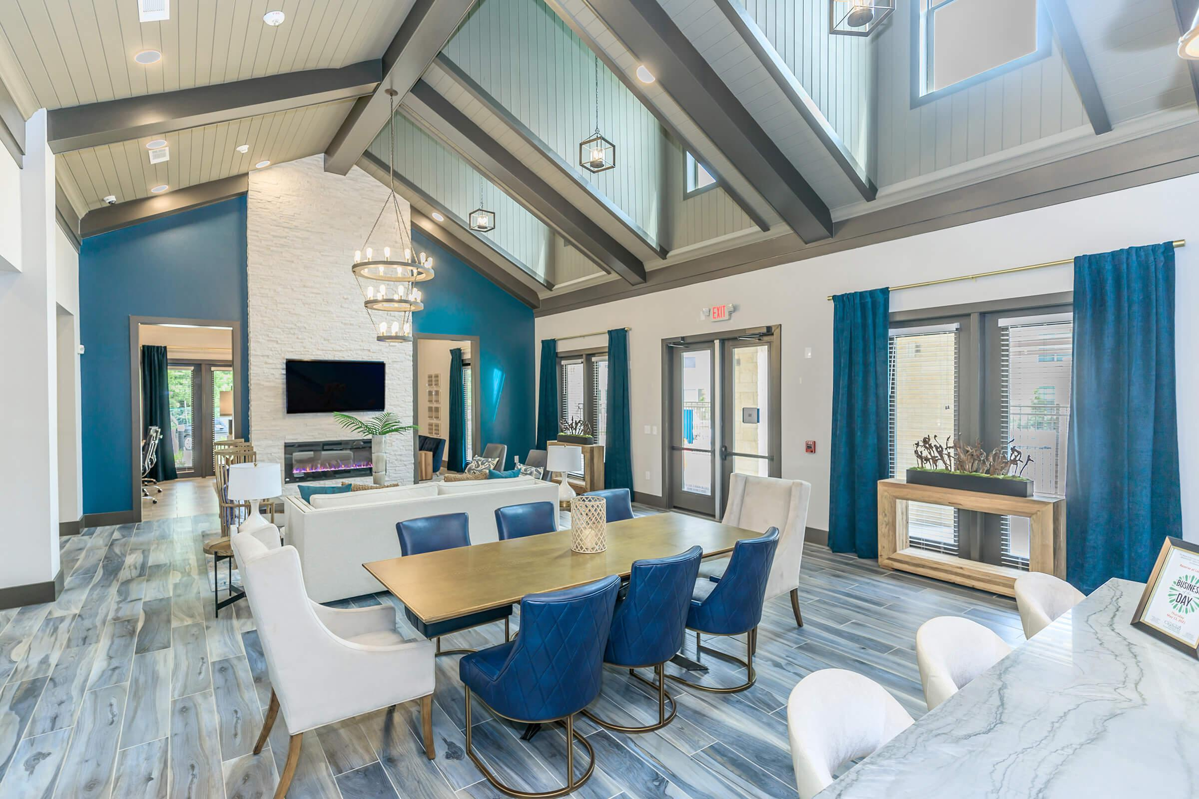 LUXURIOUS AND MODERN CLUBHOUSE