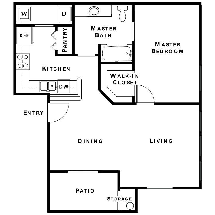 Floor plan image of Affirmed