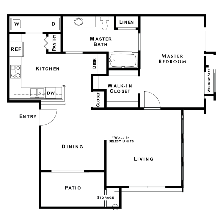 Floor plan image of Native Dancer