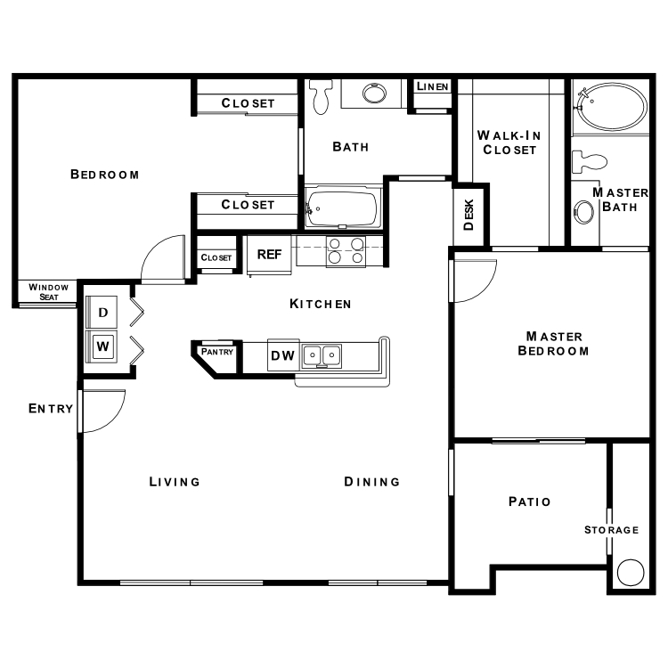 Floor plan image of Seattle Slew
