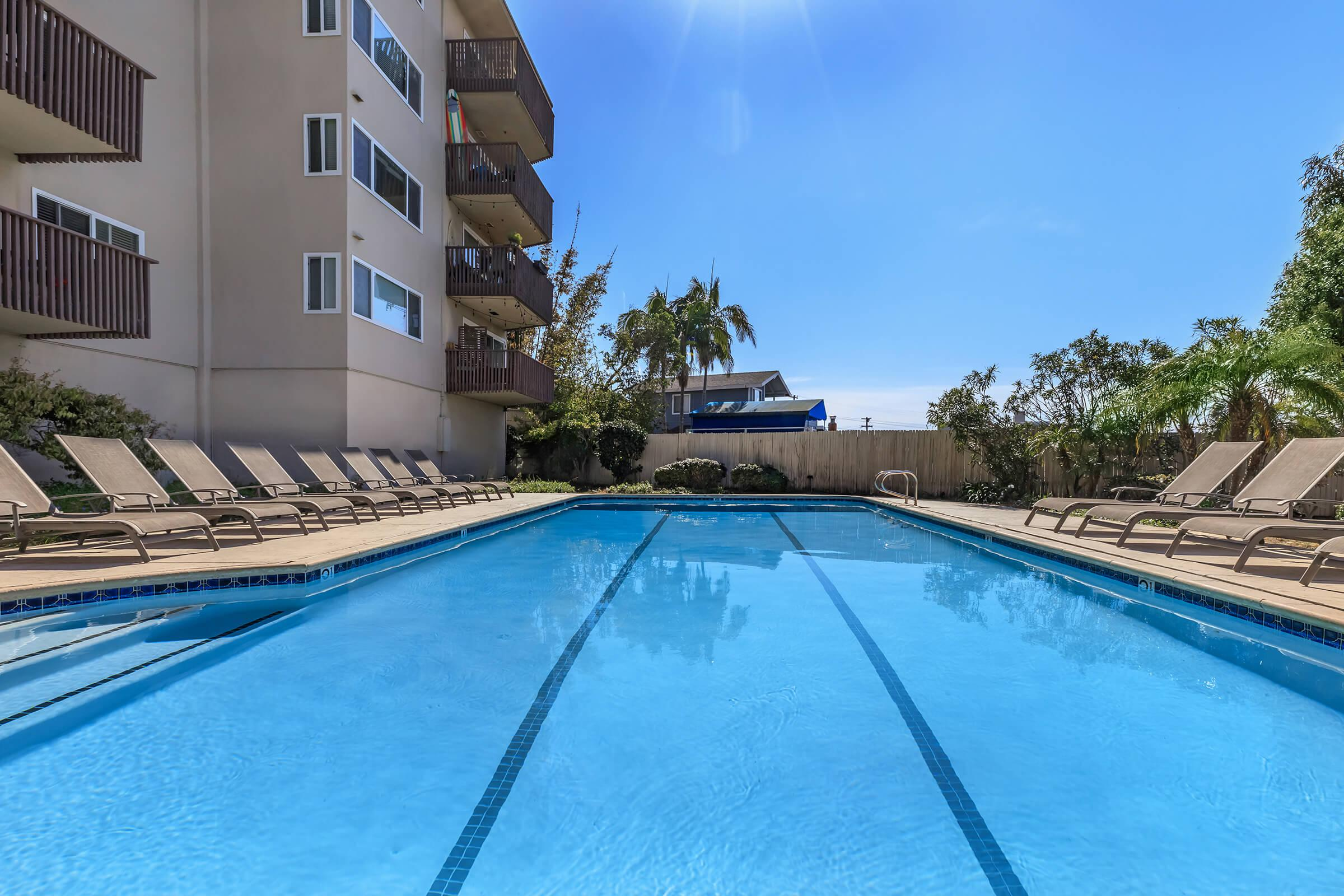 Kick back and relax poolside at Casa Hermosa