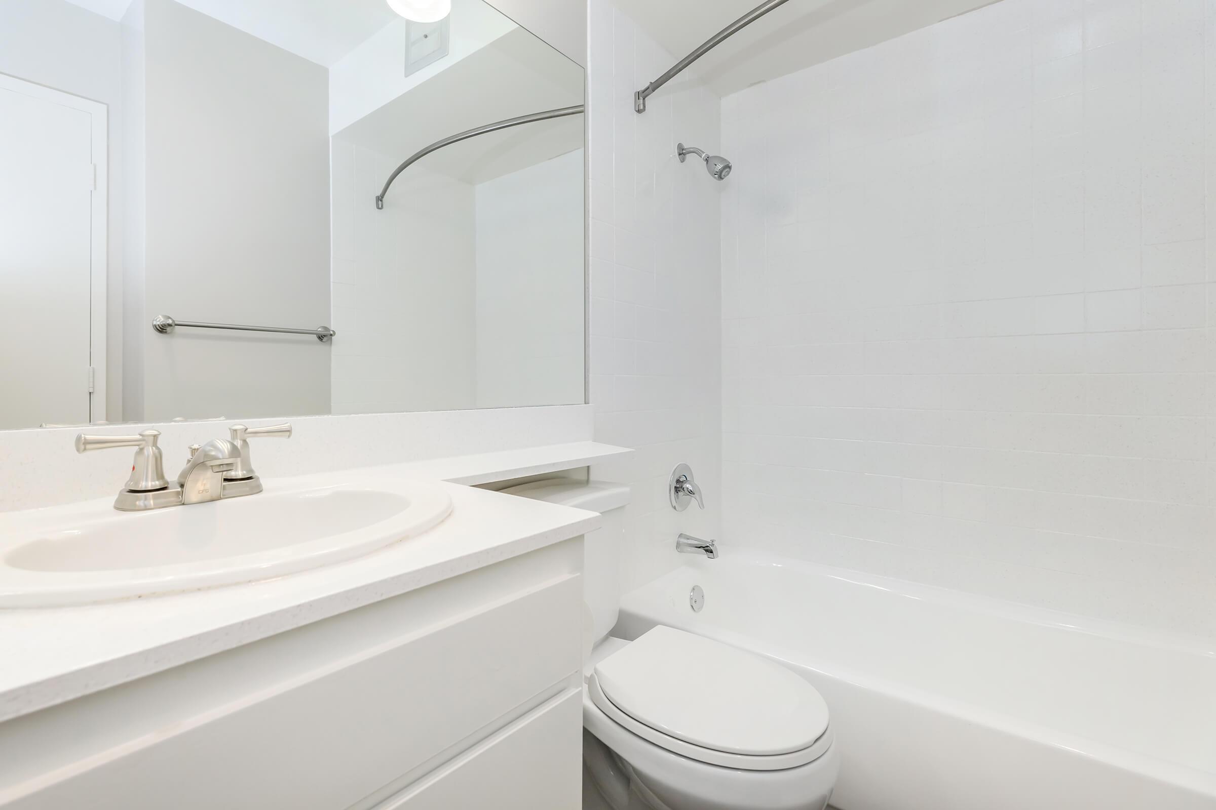 Modern bathrooms at Casa Hermosa