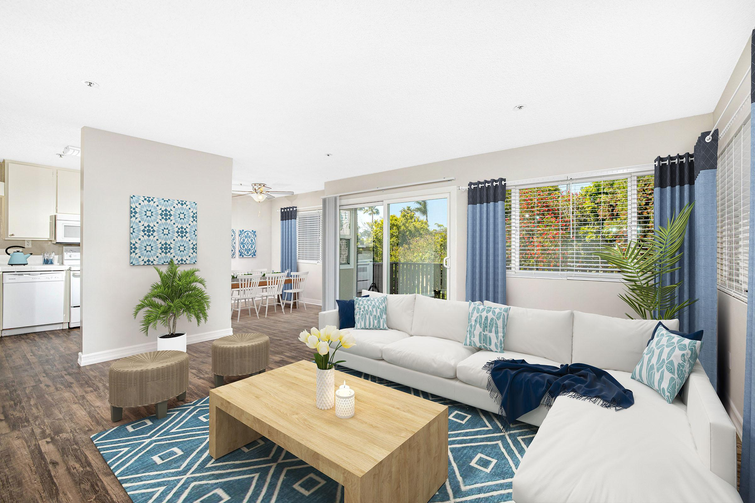 Stunning layouts at Casa Hermosa in San Diego, California