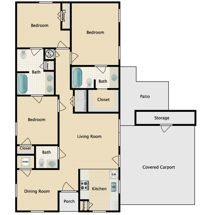 Cypress Grove Homes Mcgehee Availability Floor Plans Pricing