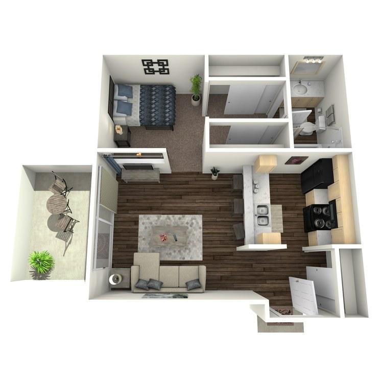 Floor plan image of Alameda