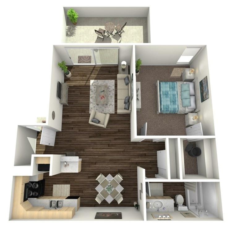 Floor plan image of Melrose