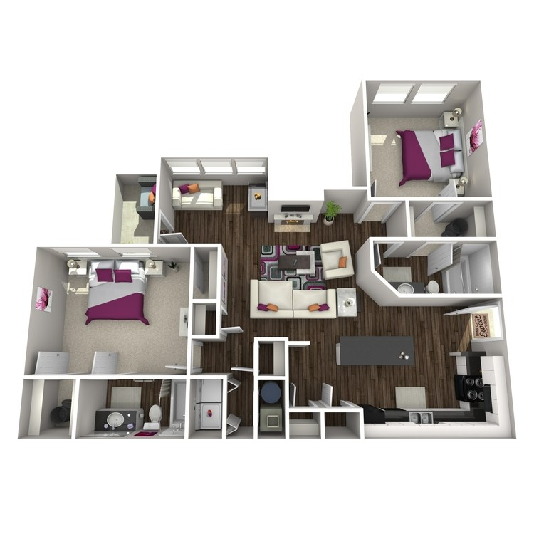 Floor plan image of Ballota