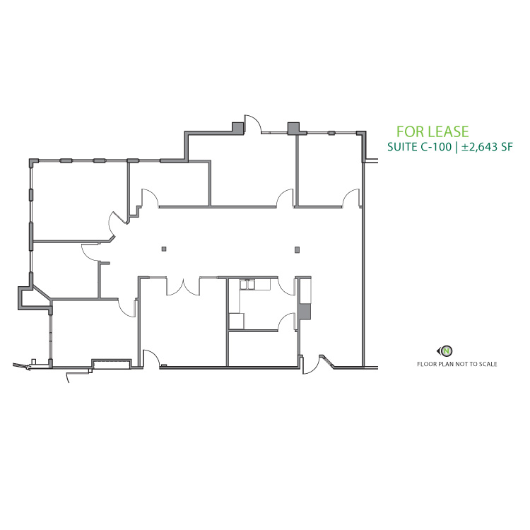 Floor plan image of Suite C-100