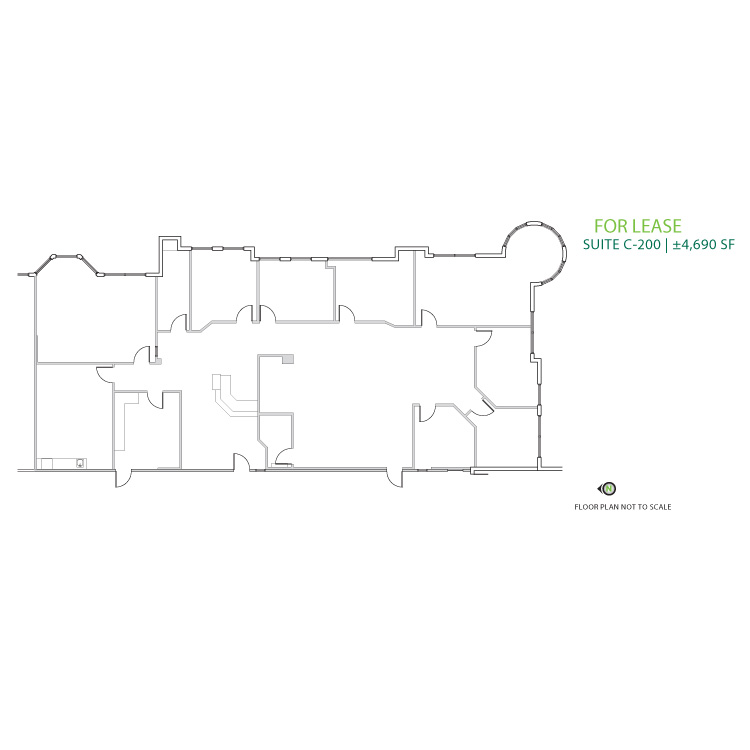 Floor plan image of Suite C-200