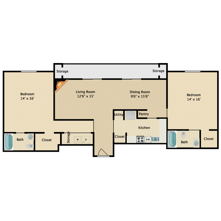 Floor plan image of Cosmopolitan
