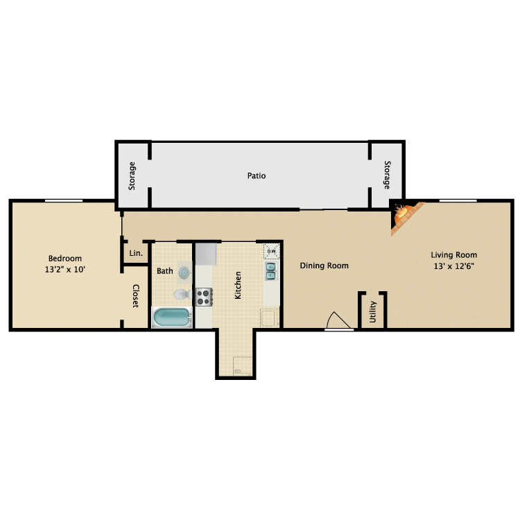 Floor plan image of The Sterling