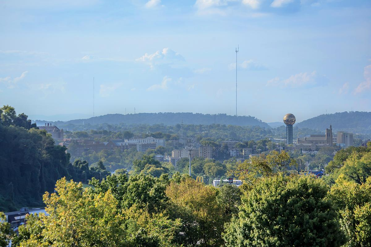 Cityscape Of Knoxville, Tennessee