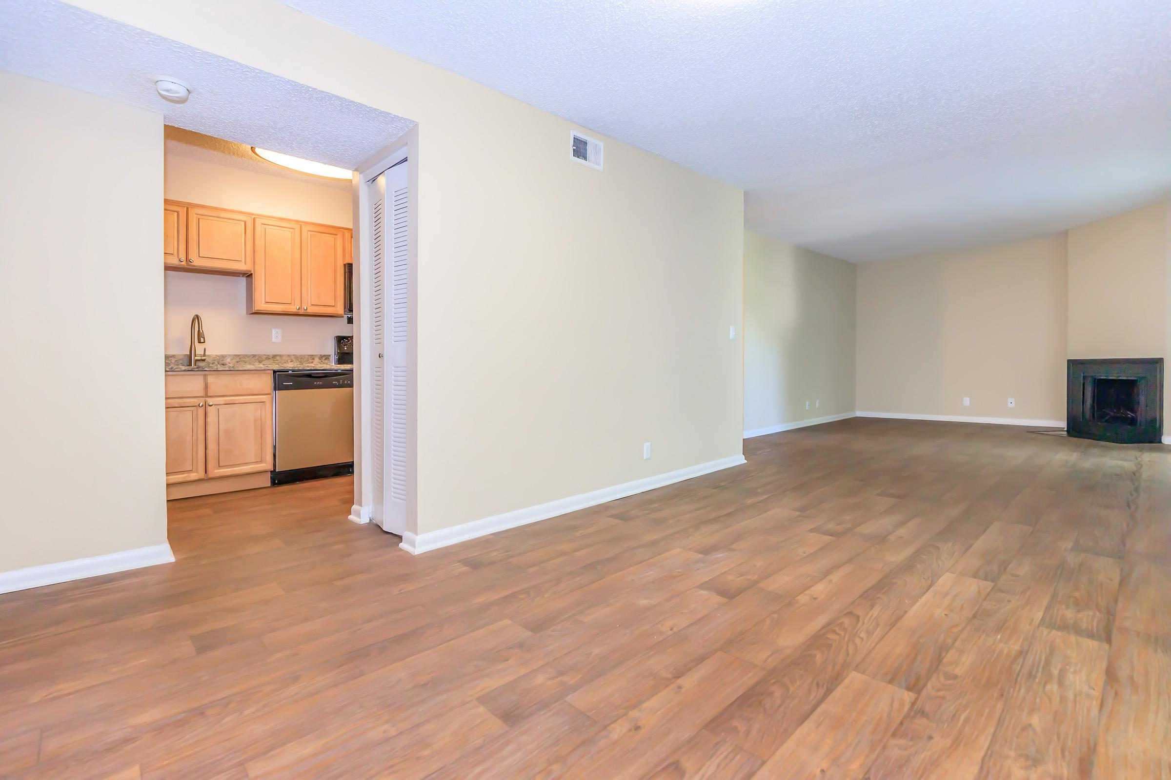 Your new living room at The Henley apartments