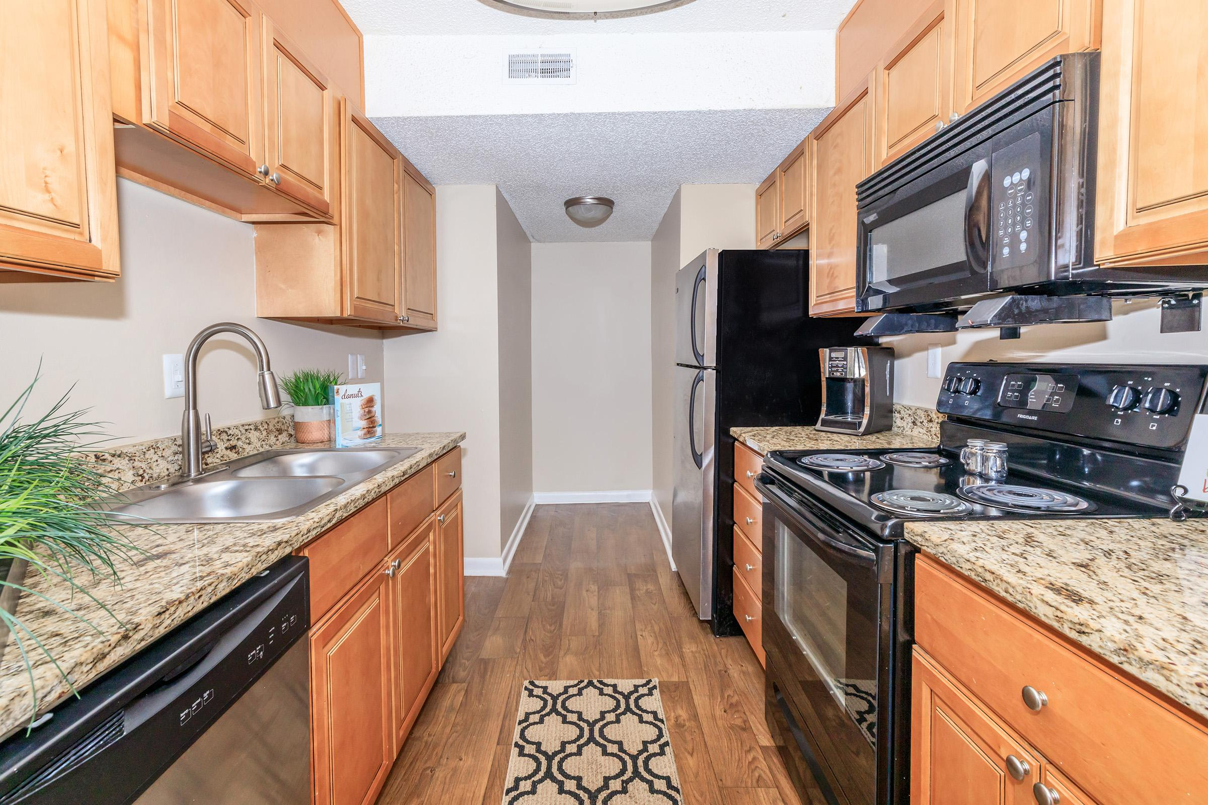 All electric kitchen