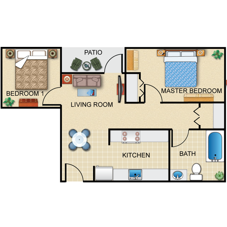 Alpine floor plan image