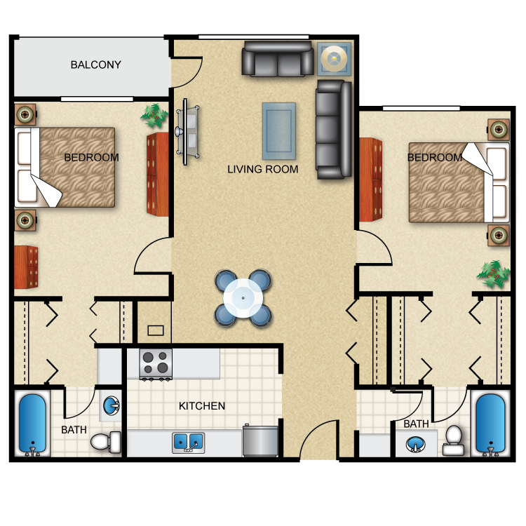 Longfellow floor plan image