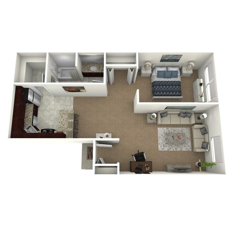 Floor plan image of Desmond