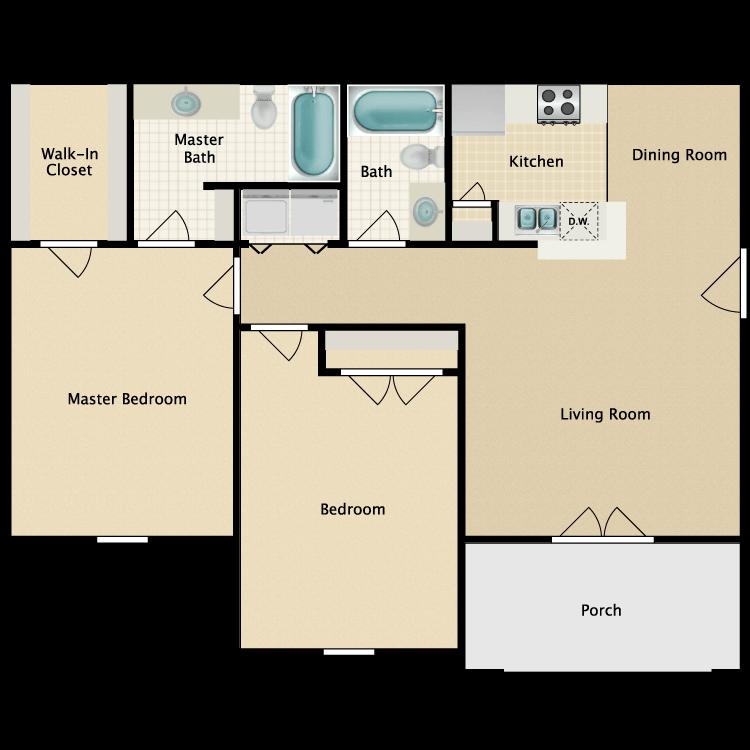 Floor plan image of The Lancaster