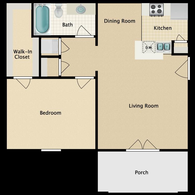 Floor plan image of The Sussex