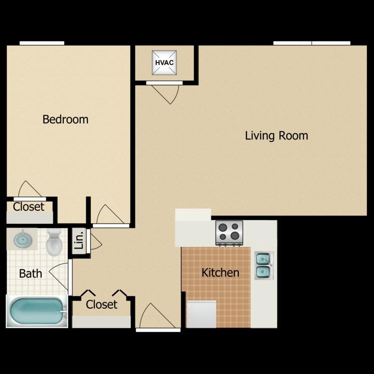 Floor plan image of Ash