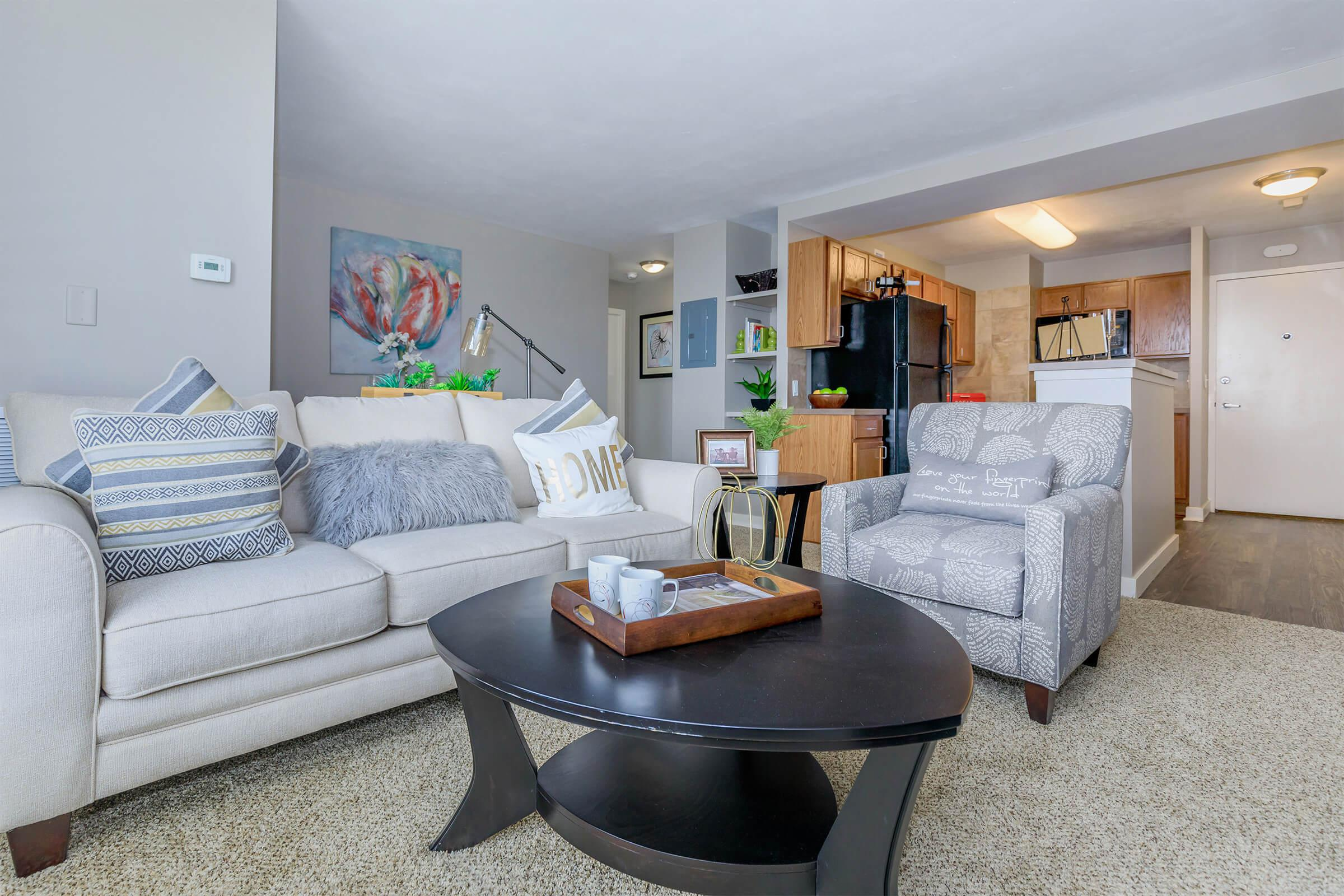 YOUR NEW LIVING ROOM AT WALNUT TOWER