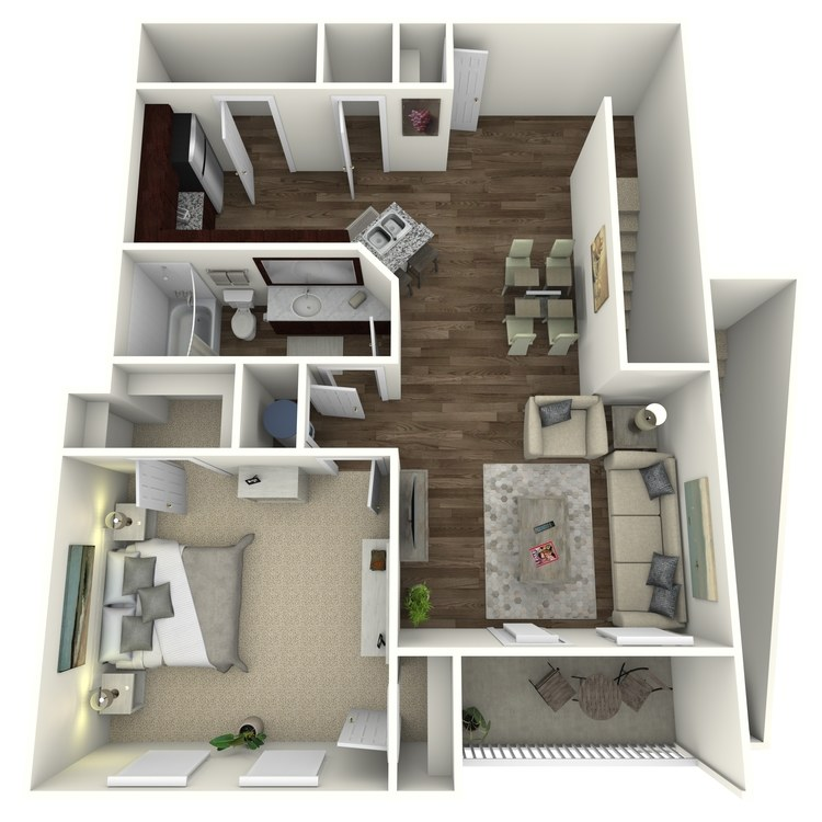 Floor plan image of The Timberlake A2UG