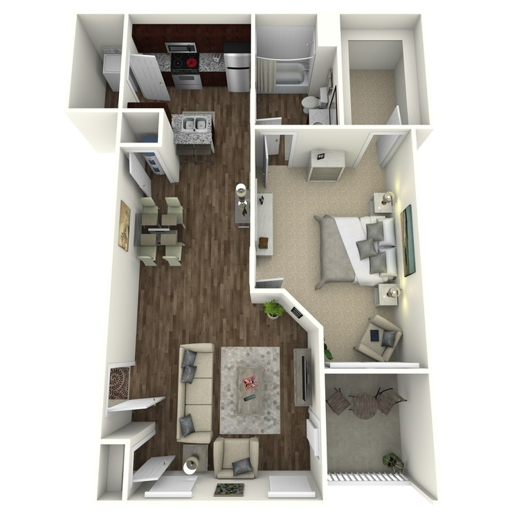 Floor plan image of The Timberlake A2L