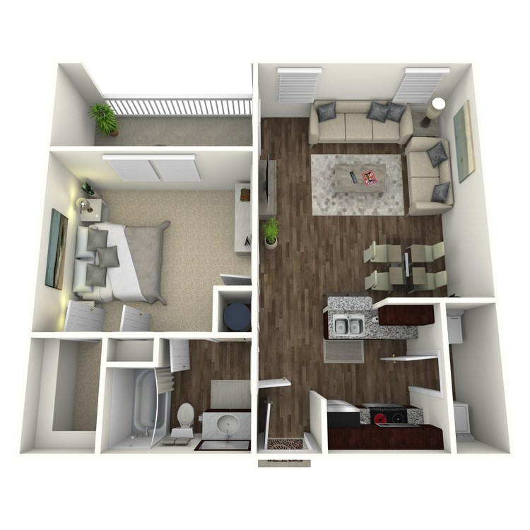 Floor plan image of The Ridgecrest A1LG