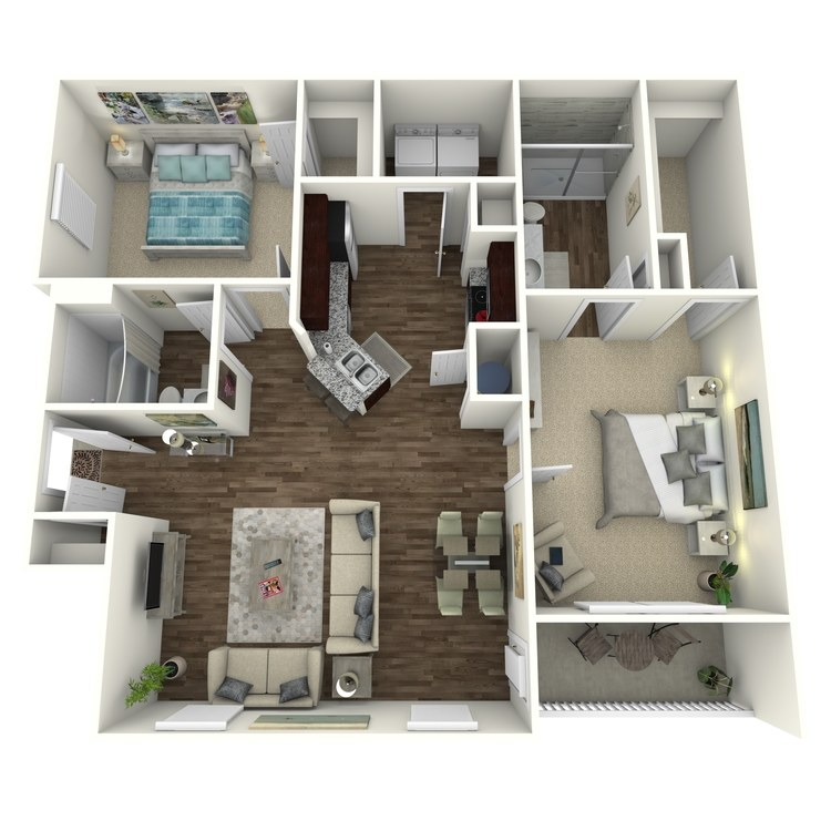 Floor plan image of The Oakwood B1L