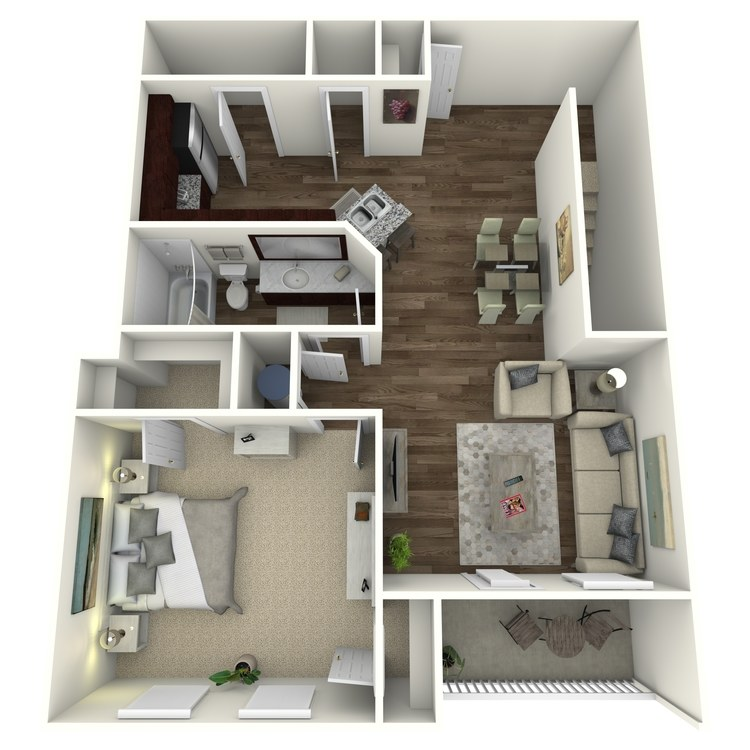 Floor plan image of The Timberlake A2U