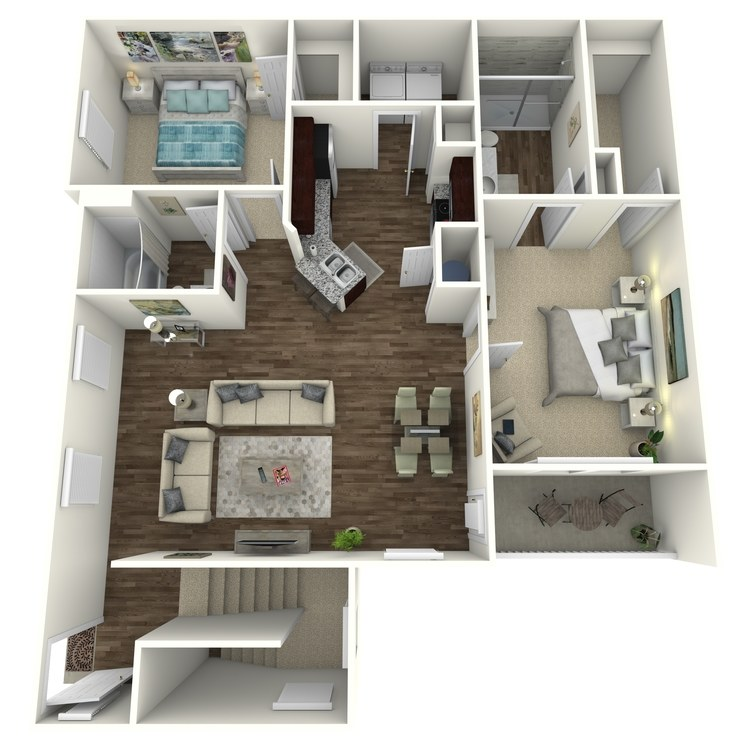 Floor plan image of The Oakwood B1UGA
