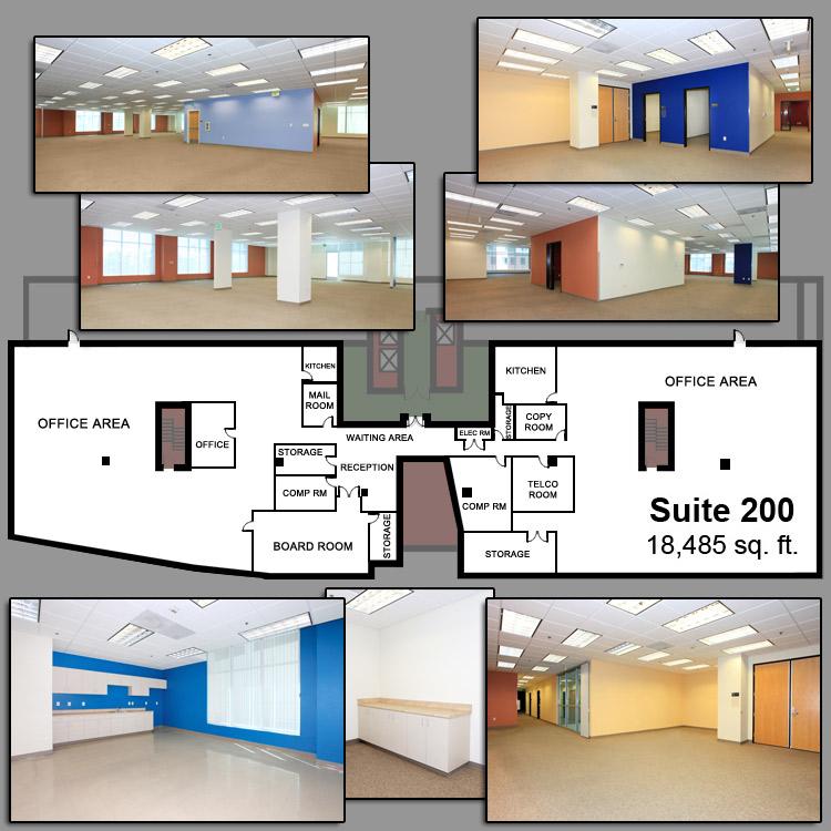 Floor plan image of Suite 200