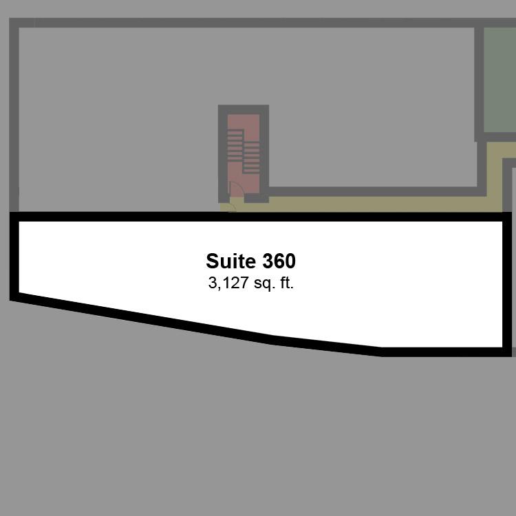 Floor plan image of Suite 360
